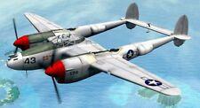 Loockeed P 38 L (2 plans ,construction bois, maquette volante radio commandée)