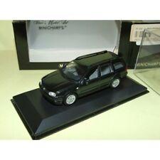 VW GOLF IV VARIANT 1999 Noir MINICHAMPS 1:43