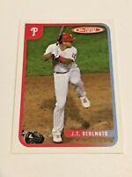 2020 Topps Total Baseball Wave 9 Base Card - JT Realmuto - Philadelphia Phillies
