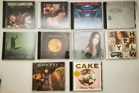 Lot of 10 Classic Rock Music CD's CCR Deep Purple Def Leppard Coldplay Clapton