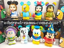 "Disney Vinylmation 3"" Designer Series 2  Set of 8 Mickey/Dragon CHASER Included"