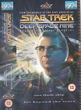 Star Trek Deep Space Nine VHS 6:7 One Little Ship/Far Beyond The Stars