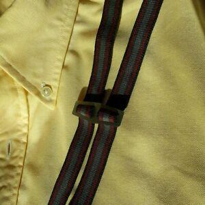 Bovver Clip Half Inch Skinny Braces Multi Stripe