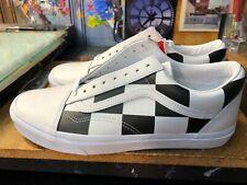 Vans Old Skool Leather Check Black White Size US 10 Men  VN0A4BV5TPL New