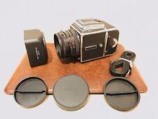HASSELBLAD 501CM C/M ZEISS PLANAR 80mm F2.8 CF A12 ACUTE MATTE no 503cw CFE