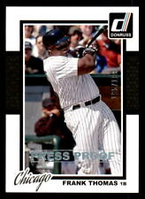 2014 Donruss Press Proof Silver #197 Frank Thomas White Sox #/199 (ref 32063)