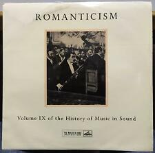 GERALD ABRAHAM ROMANTICISM history of music in sound IX LP VG+ HLPS 25 UK HMV