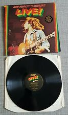 BOB MARLEY & THE WAILERS-LIVE!-UK ISSUE LP ON ISLAND RECORDS-1975-VERY GOOD CON