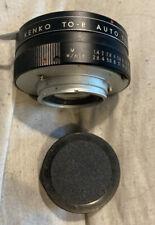 Topcon Exakta Mount 2x Lens Converter by Kenko *Excellent Condition