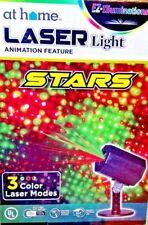 EZ Illuminations Laser Light  Animation Feature Animated or Still Stars 3 Colors