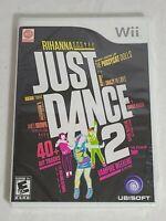 Just Dance 2 (Nintendo Wii, 2010) NEW FACTORY SEALED Rihanna. Fast 🚢.