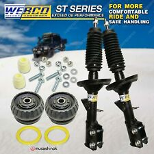 Pair Front Shock Absorbers + Strut Mount Bearing Kit for Holden Commodore VZ