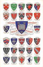 uk39692 oxford university real photo uk lot 23 uk coats of arms heraldic