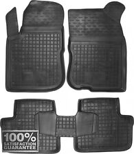 Rubber Carmats for Peugeot 208 2012-2016 All Weather Floor Mats Fully Tailored