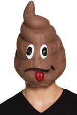 Turd SMILEY LATEX MASK NEW - Carnival Mask Face