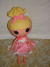 Lalaloopsy Cinder Slippers Doll Full Size with Pink Dress Button Eyes