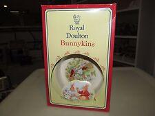 Royal Doulton Bunnykins 2-Piece Baby Set (Plate & Two Handled Mug) 1994