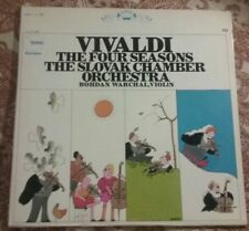 VIVALDI...THE FOUR SEASONS...SLOVAK CHAMBER ORCHESTRA...BOHDAN WARCAL LP VG+