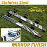 """FOR 17-20 Ford F250 Superduty Crew Cab 6"""" Running Board Nerf Bar Side Step S/S V"""