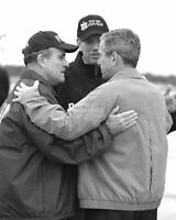 GEORGE W. BUSH RUDY GIULIANI GEORGE PATAKI SEPTEMBER 11 9/11  8X10 PHOTO (CC750)
