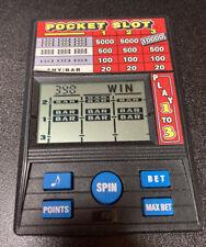 Radica Pocket Slot Video Spin Poker Electronic Handheld Game Model 1370 Fun Time