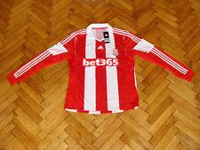 Stoke City Soccer Jersey Football England Shirt Maglia Maillot Adidas Trikot NEW