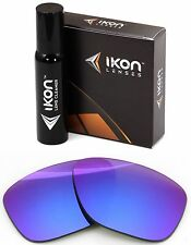 Polarized IKON Iridium Replacement Lenses For Oakley Dispatch 2 Purple Mirror