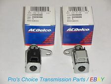 OEM AC DELCO  2-Piece Shift Solenoid Kit-- (A) 1-2 & (B)3-4 Fits 4L80E 1991-On