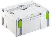 FESTOOL Systainer Classic SYS 2 445434 koppelbar> TANOS Mafell HITACHI BTI T Loc