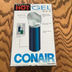 NEW Conair Compact Hot Gel Cap Heating Cap Fits All Gel Can Sizes HGM15
