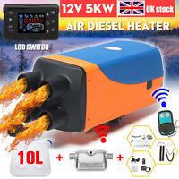 2020 5KW Diesel Air Heater 5000W 12V Silencer For Motorhome Trucks Boat Bus Car