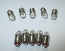 LED E5.5   3,5-4,5Volt  für Krippen-, Puppenhauslampen 10 Stück  -NEU-