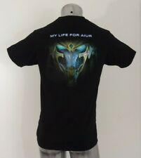 StarCraft Legacy of the Void my life for Aiur men's t-shirt black S new