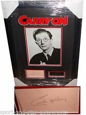 Charles Hawtrey SIGNED AUTOGRAPH Carry On AFTAL UACC RD