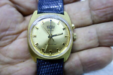 SERVICED Vintage Vulcain Cricket Alarm Swiss Mechanical Gold-plated Watch