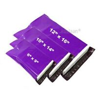 Strong Purple Mailing Bags Coloured Plastic Postage Self Seal Poly Mailer Cheap
