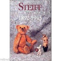 ❤︎Steiff Identify Guide 1892-43 Sortiment Book New Catalog Bear Animal Pfeiffer❤