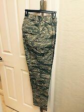 NWT  Genuine Air Force Military ABU's Pants..heavy-duty  34XL tiger Stripe