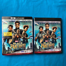 Black Panther (4K Ultra HD Blu-ray Disc ONLY, 2018) + Slipcover Sleeve