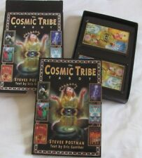The Cosmic Tribe Tarot by Stevee Postman, Book Plus 80 Full Colour Cards, Boxed