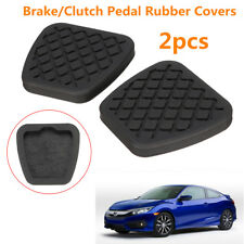 2x Brake Clutch Pedal Pad Rubber Cover For Honda Civic Accord CR-V Acura  ~