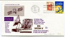 1982 RCA Satcom IV Cape Canaveral Delta-PAM Distribute Video Programming USA