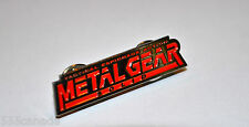 Metal Gear Solid Logo Metal Pin - Snake Phantom Pain 2 3 4 V - Snake Eater