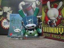 "◆Kidrobot 2013 Side Show DUNNY 3"" SERGIO MANCINI Selfish Wormboy vinyl figure◆"