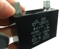 8uf Capacitor 440Volt 50hz Motor Start Run   Capacitor