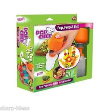 Pop Chef Food Decorator - Create Shapes In Seconds - AS SEEN ON TV - Kitchen Fun