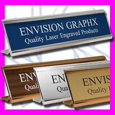 2x10 CUSTOM ENGRAVED PERSONALIZED WALL / DOOR / DESK NAME PLATE GREAT GIFT!