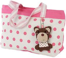 Exclusivo Para Casa De Los Animales Grande De Algodón Rosa bolso bolso bolso de hombro