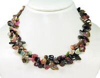 Außergewöhnlich schöne Halskette aus Turmalin in Form großer Splitter