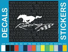 "8"" Ford Mustang Racing Pony Horse Truck Car window decal sticker"